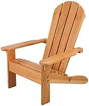 KidKraft Wooden Adirondack Children's Outdoor Chair, Kid's Patio Furniture, Honey, Gift for Ages 3-8