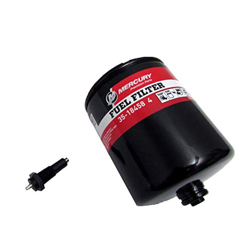 Mercury Fuel Filter 35-18458T 3 With Sensor Fits All V-6 EFI Outboard Engines 1995 & Prior