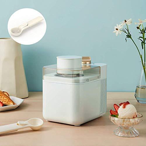 Sorbetière électrique, machine Compresso Ice Cream Maker Professional Gelato Sorbet Frozen Yogourt Maker Enfants maison ggsm (Color : Green)