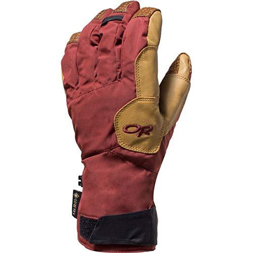 Outdoor Research M Bitterblaze Aerogel Gloves Herren Gore-Tex Fingerhandschuh, Größe L - Farbe Madder - Natural