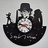 Vinywoody Joaquin Sabina cantautor Reloj de Pared Disco de Vinilo