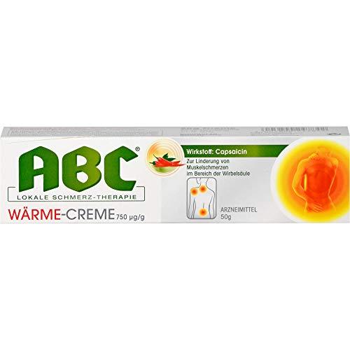 Hansaplast ABC lokale Schmerztherapie Wärme-Creme, 50 g Creme