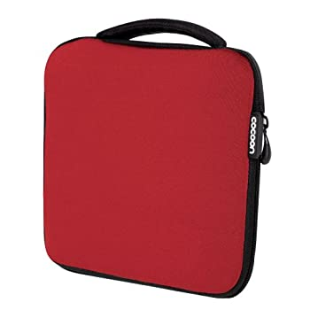 Cocoon CSG310RD Neoprene Gadget Case includes GRID-IT! Accessory Organizer  Racing Red
