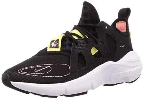 Nike Men's Huarache Type Running Shoes (10, Black/Pink Tint/Black/Zinnia White)