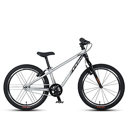 QIU Premium Safety Sport Kids Bike Bike Bike for Kids Edad 6 años niños  Edición de Bicicleta de montaña de 20 Pulgadas para niños y niñas. (Color : White, Size : 20')
