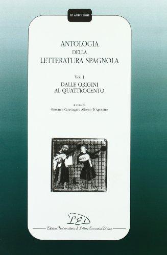 Antologia della letteratura spagnola: 1