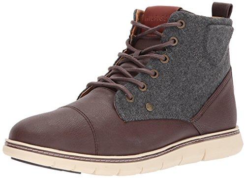 Tommy Hilfiger Men's Ferguson Fashion Boot, Brown, 11.5 Medium US