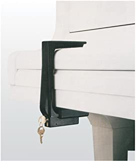 hands off piano fallboard lock