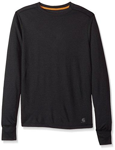 Carhartt Men's Base Force Extremes Cold Weather Crewneck Sweatshirt, Black, Large