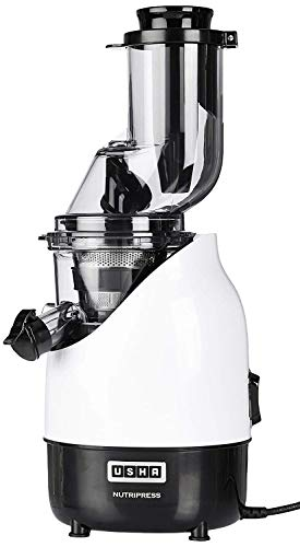 Usha CPJ 382F NutriPress Cold Press Juicer with Full Mouth Feeding Tube,...