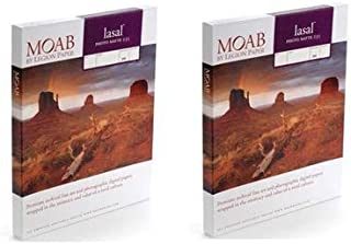 Moab 2 Pack Lasal Photo Matte, Double Sided, Bright White Archival Inkjet Paper, 235gsm, 4x6
