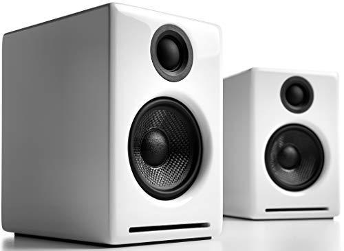 デスクトップペアスピーカー コンパクト A2+W Audioengine社ホワイト【並行輸入】