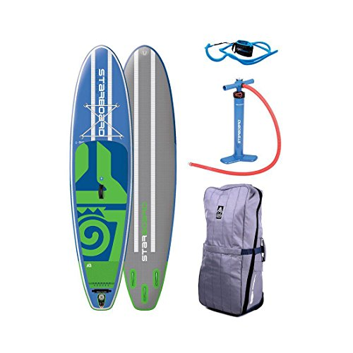 Starboard Drive Zen Inflatable SUP Paddleboard Sz 10ft 5in x 30in x 4.75in