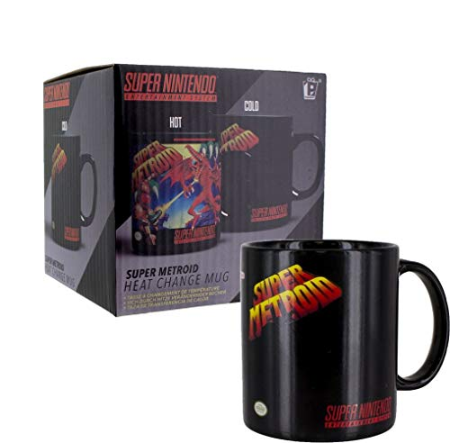 Super Metroid - Farbwechsel-Tasse   Offizielles Merchandise