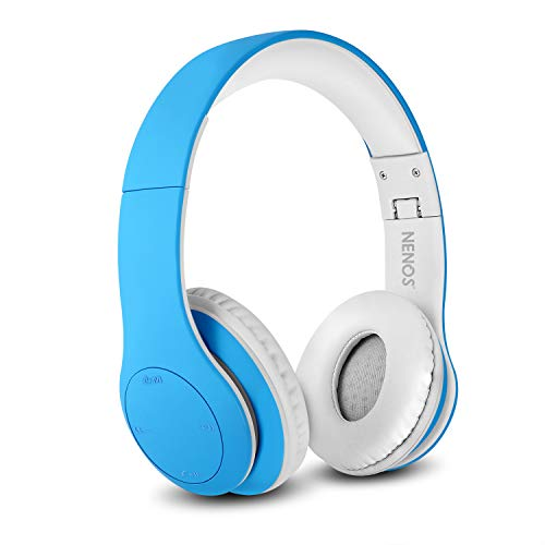 418FT2163eL - Nenos Kids Headphones Children's Headphones for Kids Toddler Headphones Limited Volume (Lavender)