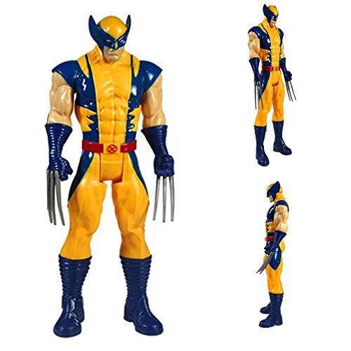 WUHAO 29 Centimetri X-Men Art Model Bambola di Compleanno del Regalo del Giocattolo Wolverine