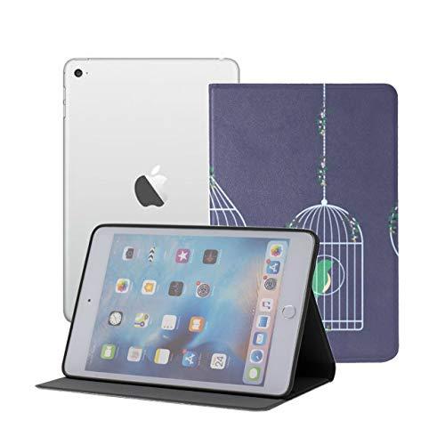 Ipad Case Mini Hanging Birdcage Ivy Knitted Kids Covers For Ipad Mini Ipad Mini 1/2/3 Auto Sleep/wake With Multi-angle Viewing For Ipad Mini 3/ Mini 2/ Mini 1