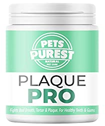 NO MORE PLAQUE, TARTAR AND BAD BREATH: Our plaque control powder has a market leading FOUR active ingredients much more than other competitors. Its powerful formula will help prevent plaque and tartar build-up along with the added bonus of keeping yo...
