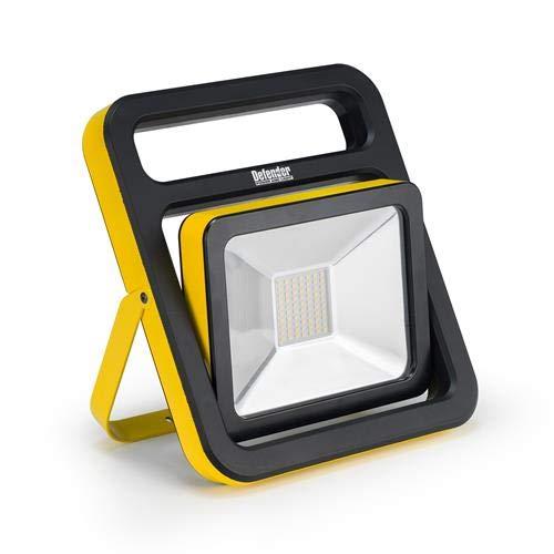 Defender Power & Light E206013 DEF 110V 30W Slimline LED Light c/w Folding Stand