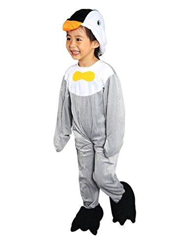 J13 Disfraz de pingüino, Tallas 2-3 años (92-98 cm), Trajes de Carnaval de pingüino, Traje de Carnaval de pingüino, Para Niños, Niñas, Carnaval de Carnaval de Carnaval, también como regalo de cumpleaños o Navidad
