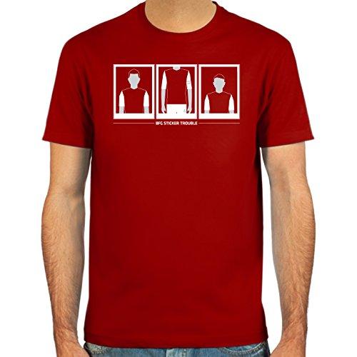 SpielRaum T-Shirt Per Mertesacker, BFG Sticker Trouble ::: Größen: S-XXL