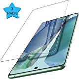 Screen Protector for Samsung Galaxy Note 20 5G/4G, Geekboy Tempered Glass Screen Protector [Case Friendly] [Anti Fingerprint] [Bubble Free] [Anti-Scratch] for Samsung Galaxy Note 20 Only, Clear, 3 Pack