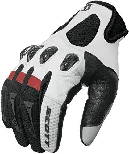 Scott Assault MX DH Motorrad/Fahrrad Handschuhe schwarz/weiß 2020: Größe: XL (11)