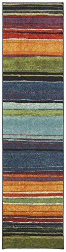 Mohawk Home New Wave Rainbow Printed Rug, 2'x8', Multicolor