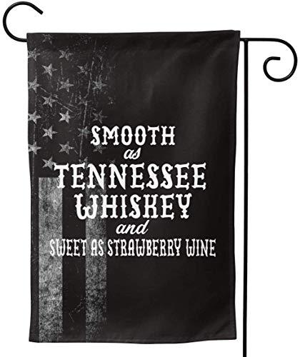 FairyLi Tuinvlaggen versleten Usa Vlag glad als Tennee Whiskey Rback-1 Welkom Grote Erf Dubbelzijdige Huis Vlag Banners Voor Patio Gazon Thuis Outdoor Decor 12.5X18In 28X40In 12.5x18inch Als afbeelding