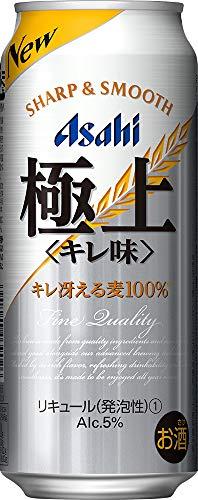 アサヒビール 極上 キレ味 500ml缶 500ml × 24缶