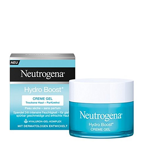 Neutrogena Hydro Boost Creme Gel - Feuchtigkeitspflege mit einer leichten, cremigen Textur - Mit...