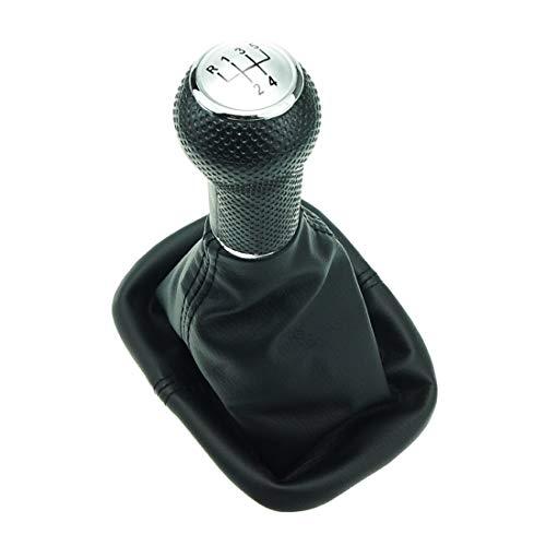 Do!LED Schaltsack Schaltknauf Rahmen schwarze Naht 5 Gang 23 mm Schaltgestänge kompatibel für Bora und Golf 4 Bj. 1997-2005 1,4/1,6/1,9 Liter Benziner & 1,9 SDI und viele mehr Beschreibung lesen