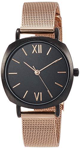 [サン・フレイム] 腕時計 J-アクシス クッションケースメッシュベルトウォッチ DL811-BPG レディース ゴールド