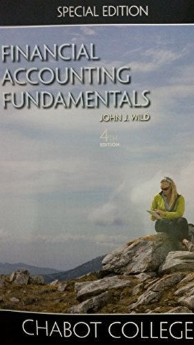 Financial Accounting Fundamentals Chabot College