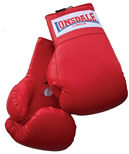 Londsdale Boxen Sandsackzubehör Oversized Boxing Gloves, Red, Standard