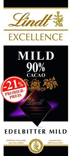 Excellence Mild 90%, Promotion, Edelbitterschokolade, 5er Pack (5 x 100 g)