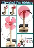 stepstodo electrical fan making kit | do it yourself science kit | stem learning toy- Multi color