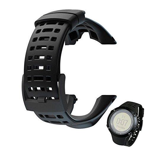 Ersatz-Armband für Suunto Ambit 3 Peak/Ambit 2 Gummi Ersatzarmband Uhrenarmband Replacement Wechselarmband Watch Band Ersatz ansehen Uhr Band