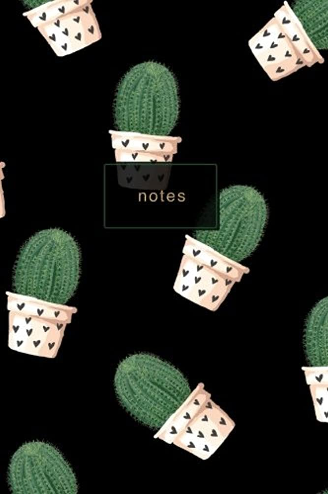 端公平犠牲Cactus Plant Journal Notebook: Cacti Design Lined Notebook (Cactus Notebooks)