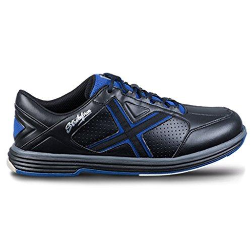 KR Unisex-Erwachsene Mens Bowling Shoes Black/Blue Strikeforce Herren Ranger Bowlingschuhe schwarz/blau, Schwarzblau, 48