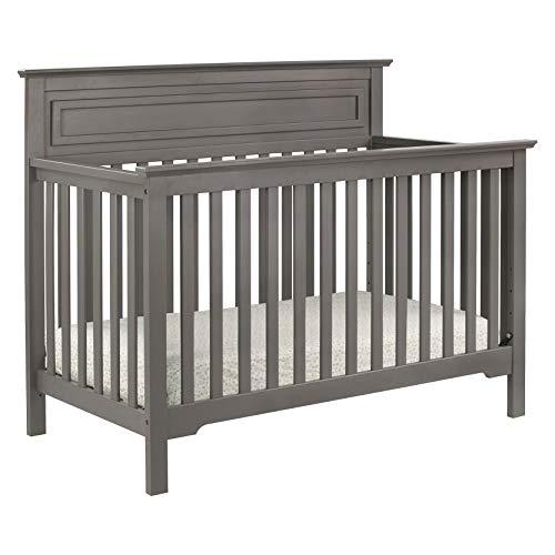 da vinci cribs DaVinci Autumn 4-in-1 Convertible Crib in Slate, Greenguard Gold Certified
