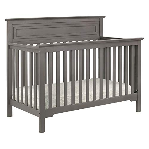 DaVinci Autumn 4-in-1 Convertible Crib in Slate | Greenguard Gold Certified