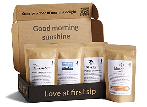 Gourment coffee sampler thank you gift ideas for mentors
