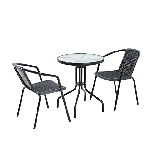 Artifact Garden bistro set furniture table chairs 2 seater patio balcony small spaces
