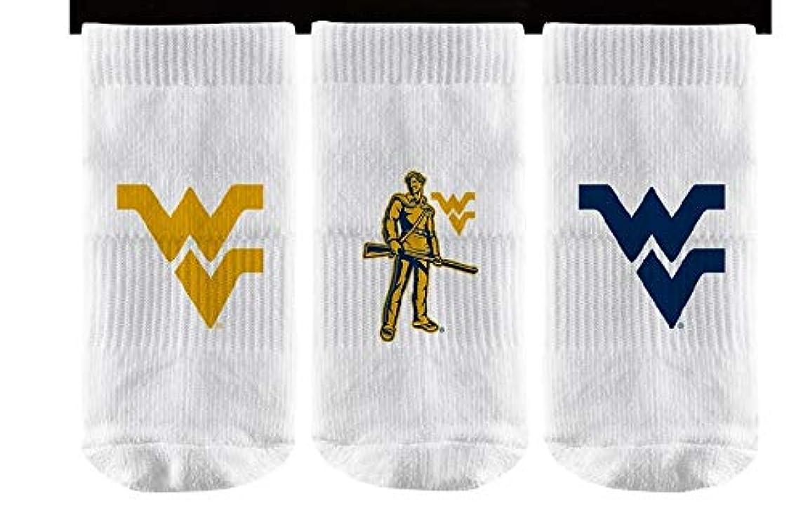 Elite Fan Shop NCAA Baby Sock 3-Pack (6 Total Socks)