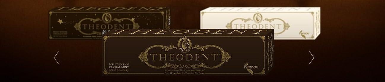 実験的教スクラップブックTheodent Toothpaste - Flouride Free - Luxury - Mint Classic - 3.4 oz