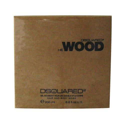Dsquared He Wood homme/man, Hair & Body Wash, 1er Pack (1 x 200 ml)