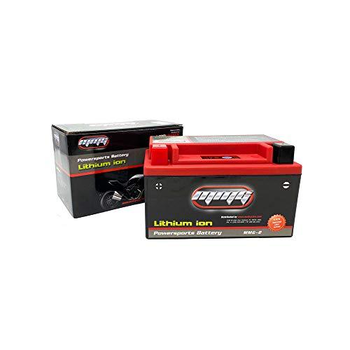 MMG Batteria Powersports sigillata agli ioni di Litio YTX7A-BS 12 Volt 160 LCA per motociclette Scooter e ATV (MMG2)