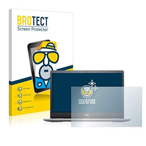 BROTECT Entspiegelungs-Schutzfolie kompatibel mit Dell Inspiron 15 5593 Bildschirmschutz-Folie Matt, Anti-Reflex, Anti-Fingerprint