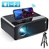 Best Projector For IPhones - Mini Projector for iPhone, ELEPHAS 2020 WiFi Movie Review